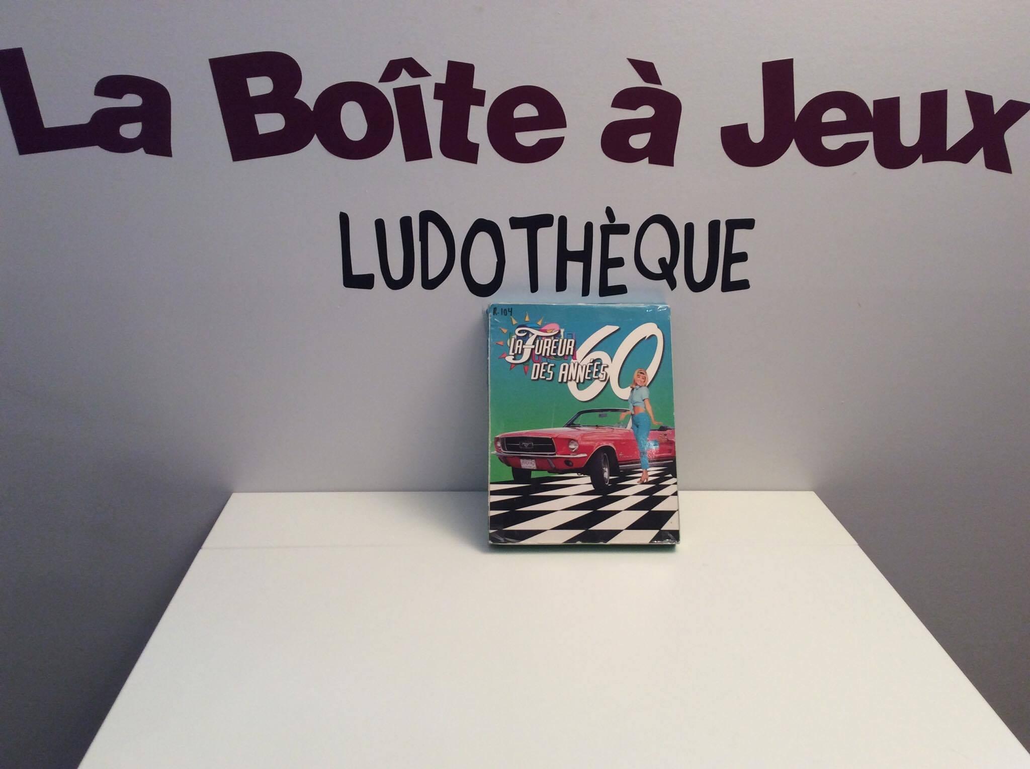 La fureur des ann es 60 la bo te jeux for Boite a jeux