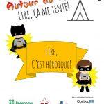 Trousse - «Lire, c'est héroïque!»